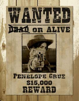 Wanted Penelope Cruz