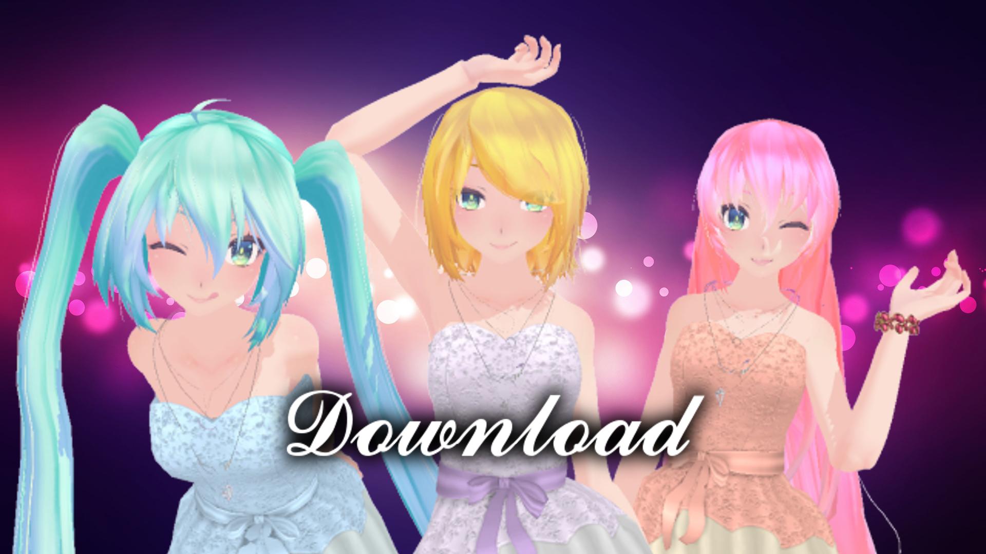 TDA Pack Rin-Miku-Luka Download!! by KiiroKitsune99