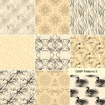 Gimp Patterns 5 by marthagose
