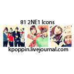 81 2NE1 Icons by ohmyjongwoon