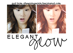 Elegant Glow PSD by ohmyjongwoon