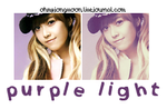 Purple Light PSD