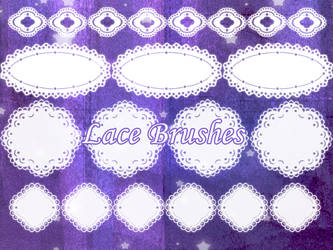 Lace Brushes by Fantasy33