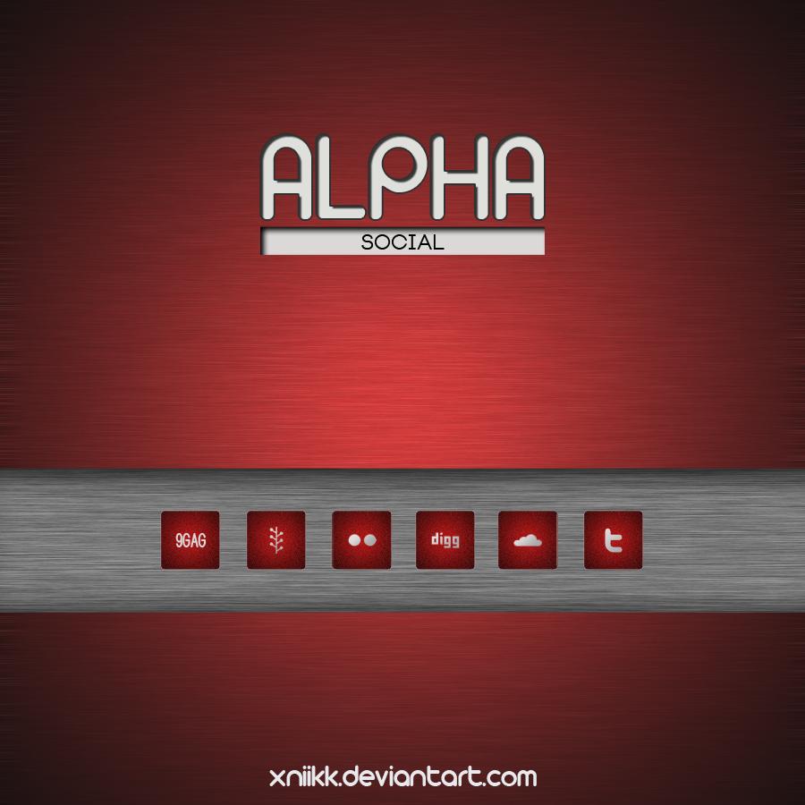 Alpha Social by xNiikk
