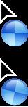 OS X 10.9 Mavericks Cursor pack. by BumbleBritches57