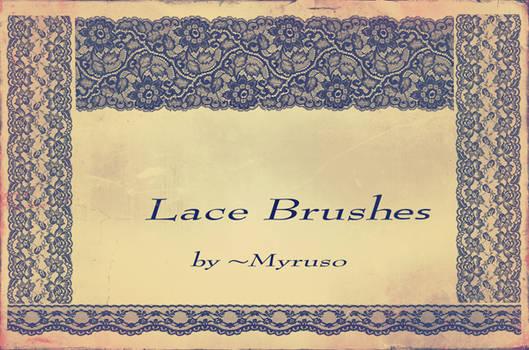 Lace brushes
