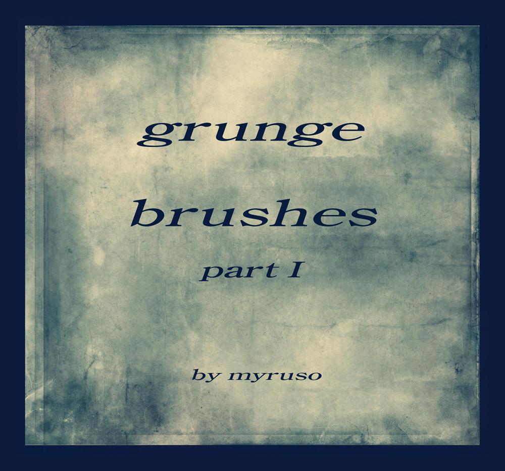 Grunge brushes 1 by Myruso