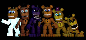 C4D|FNAFWORLD|GIF|Freddy