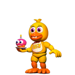 C4D|FNAFWORLD|GIF|Chica