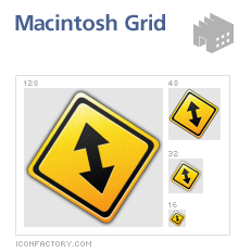 Road Signs Replacement Icons by fenixtx22