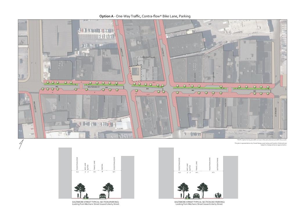 Downtown Redevelopment Concept Plan by julieexann