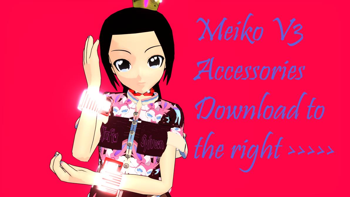 Meiko V3 Accessories v2 by SnowLillyYukino