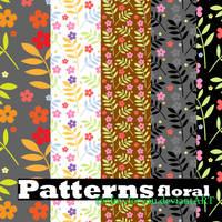 floral patterns by Ofmyforyou