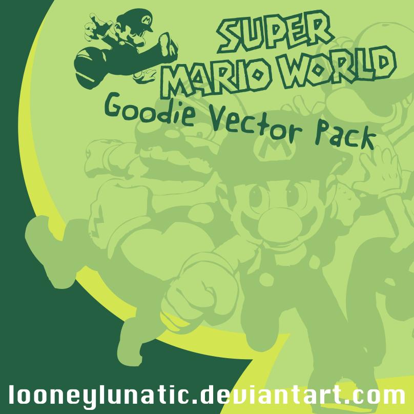 SuperMarioVectorPack by looneylunatic