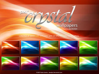 pxl' Crystal wallpapers by deadPxl