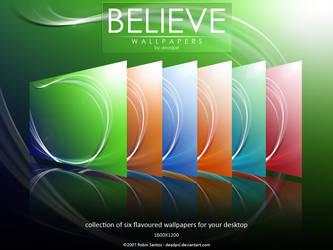 Believe Wallpapers by deadPxl