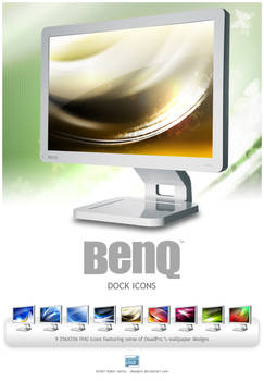 BenQ LCD Monitor Dock Icons