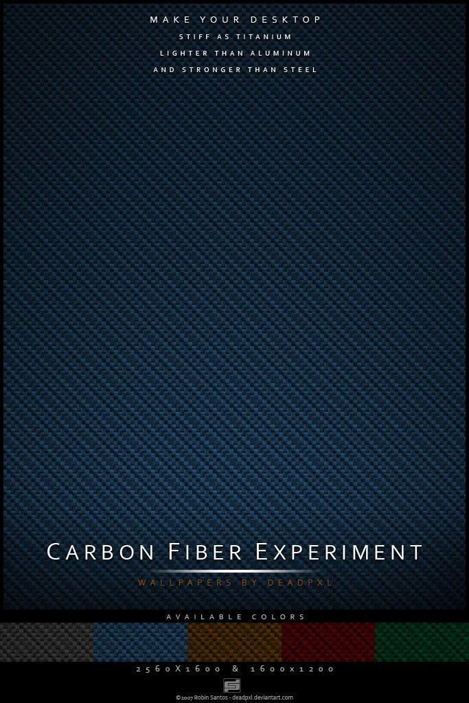 Carbon Fiber Experiment by deadPxl