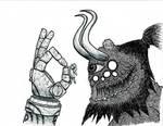 Psychedelic demon4 by Kronos1698