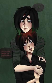 Pete and Vampir