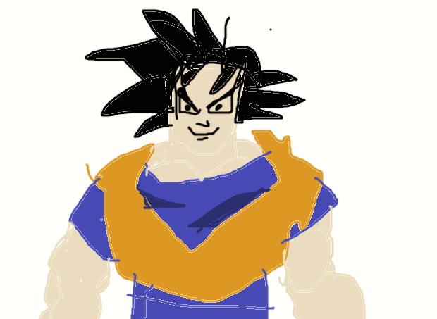 Goku Muro Practice by BlackSmokeShenron-x