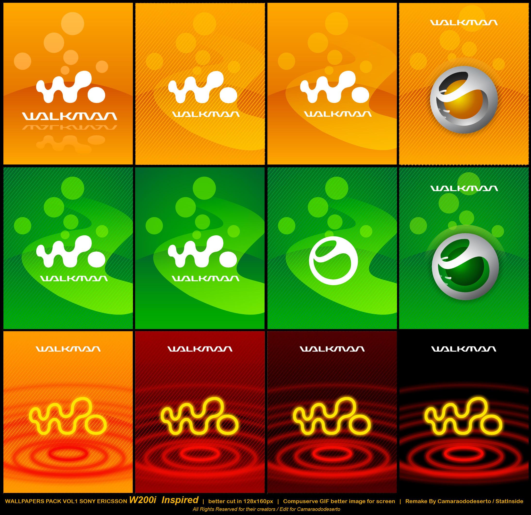 WALLPAPERS SONY ERICSSON W200i by mwtntnet