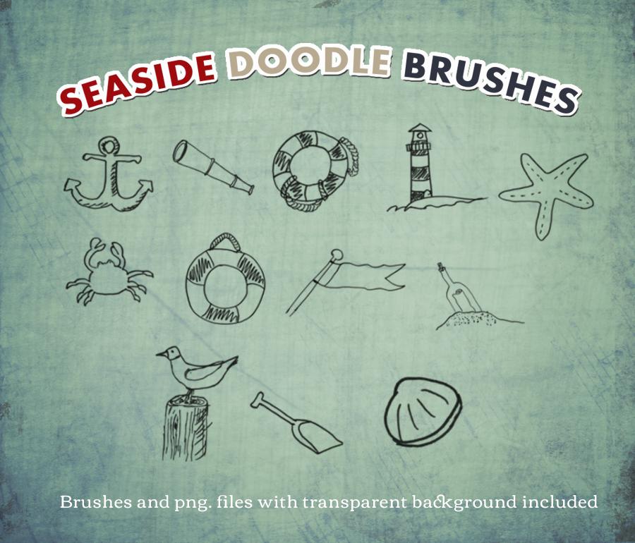 Seaside doodles DBD by ReallyRosie226