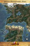 The Inner Sea Region Map (RUS)