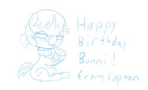 For the Birthday Bunni SKETCH