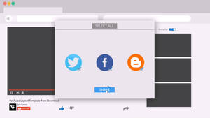 awesome motion graphics youtube layout template by KhaledReese