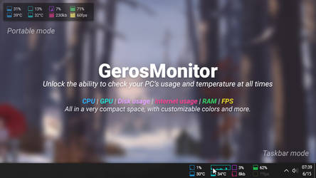 System Monitoring on Rainmeter - DeviantArt