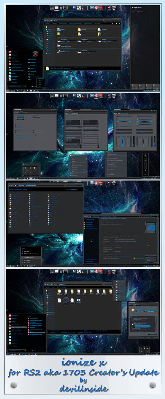 Ionize X For Windows 10 RS2