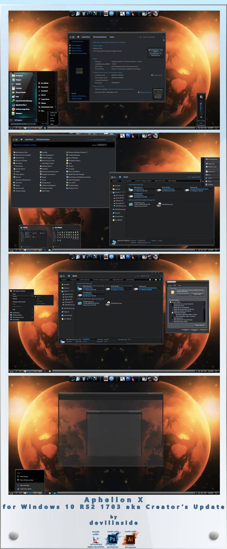 Aphelion X For Windows 10 RS2