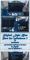 Digital Light Blue for Windows 7