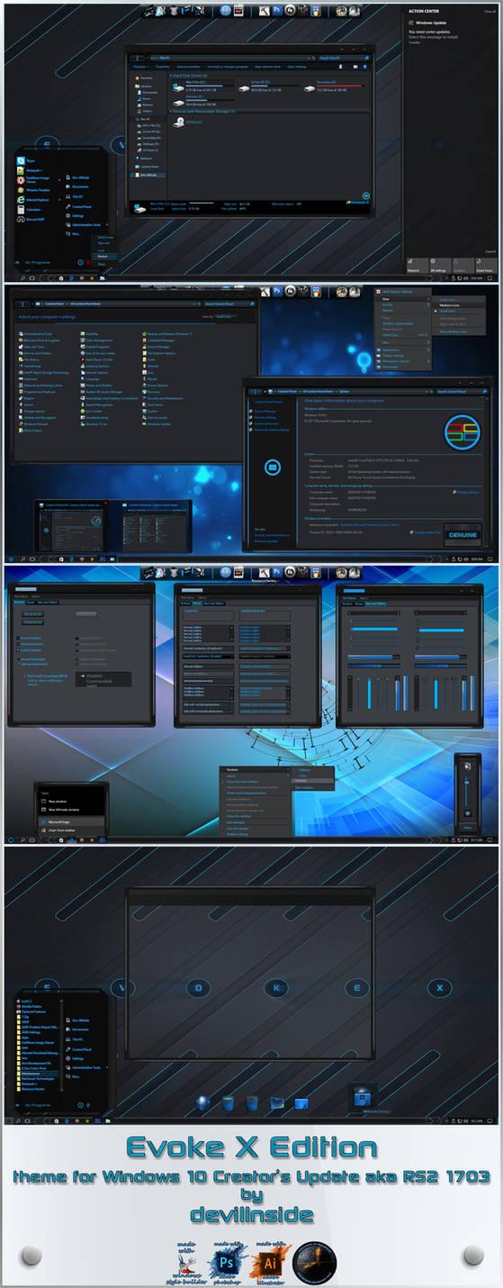 Evoke X Edition For Windows 10 RS2