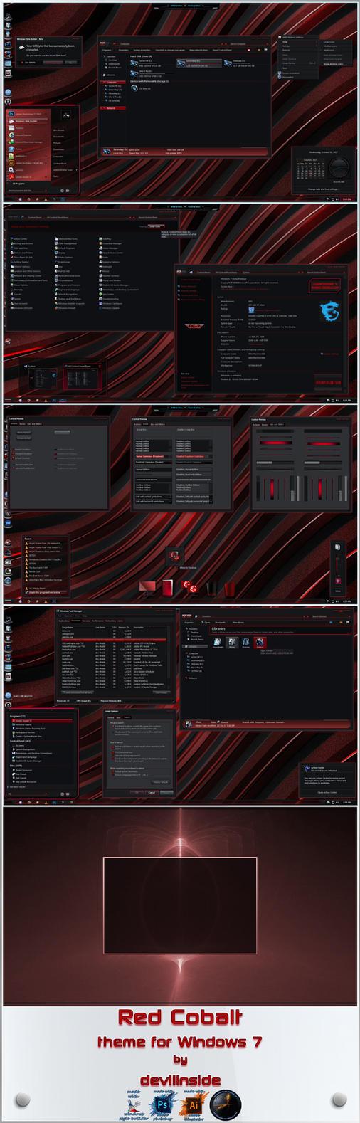 Red Cobalt version 1.1 by devillnside