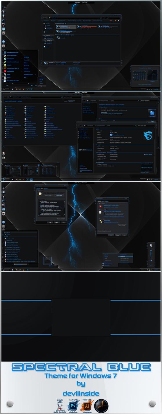 Spectral Blue by devillnside