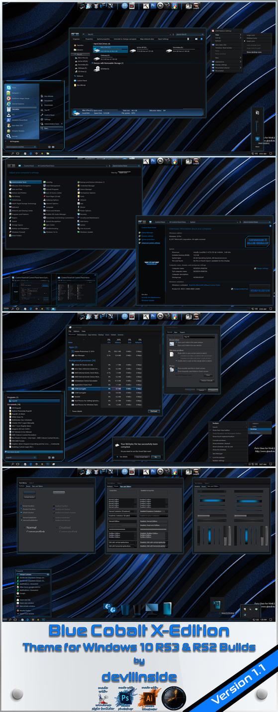 Blue Cobalt X-Edition version 1.1 by devillnside