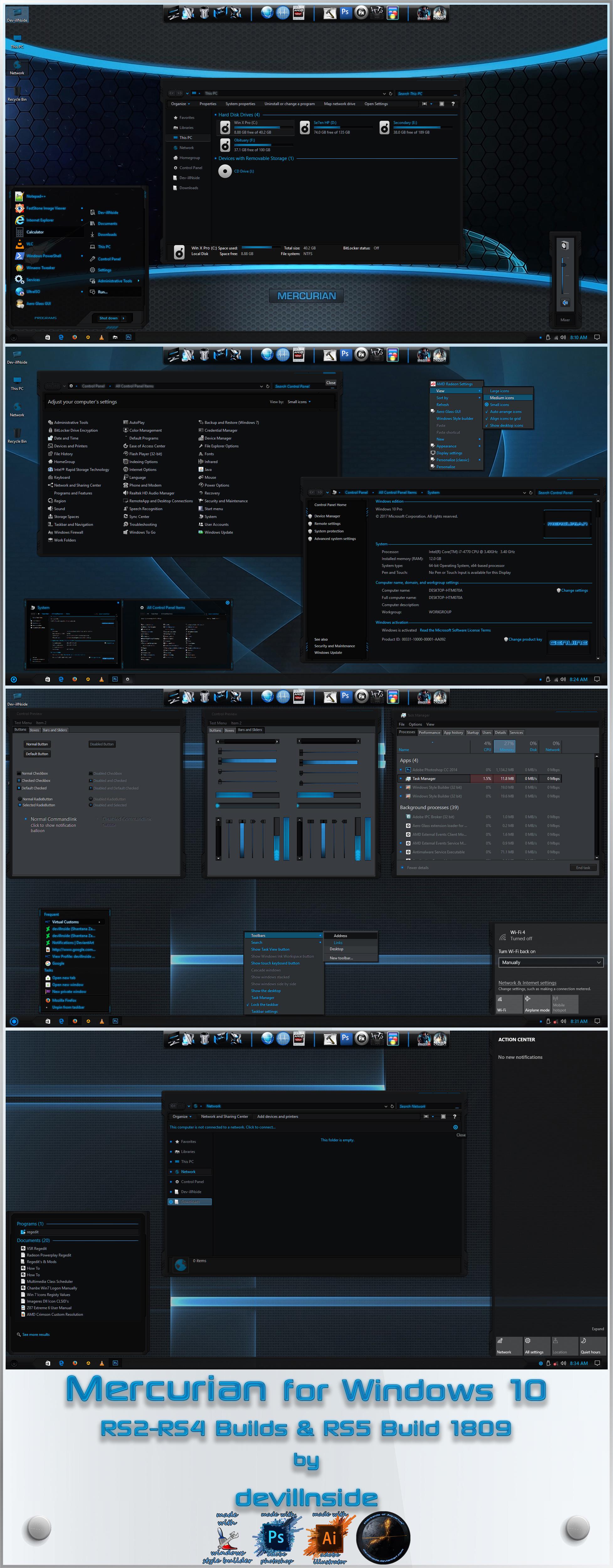 Mercurian for Windows 10 by devillnside