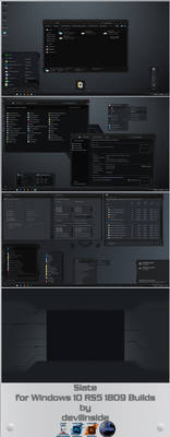 Slate for RS5 1809 and RS2-RS4