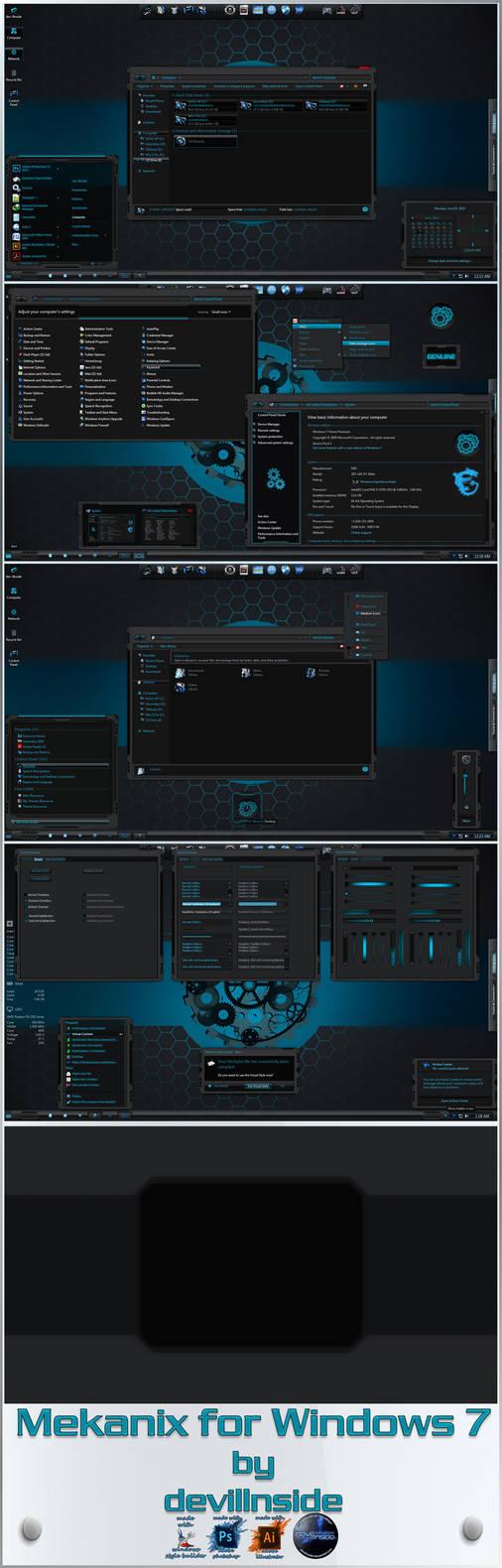 Mokocchi Visual Style. for Windows 7