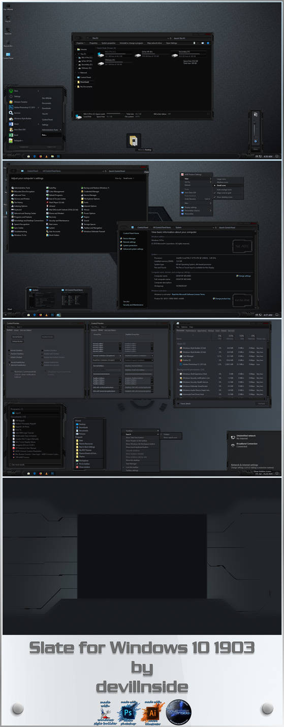 X-Spectral for Windows 10 1903