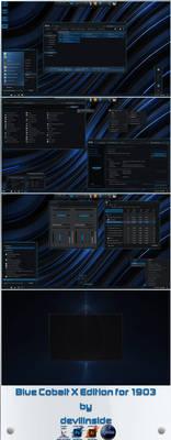 Blue Cobalt X Edition for Windows 10 1903