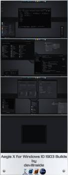 Aegis X for Windows 10 1903