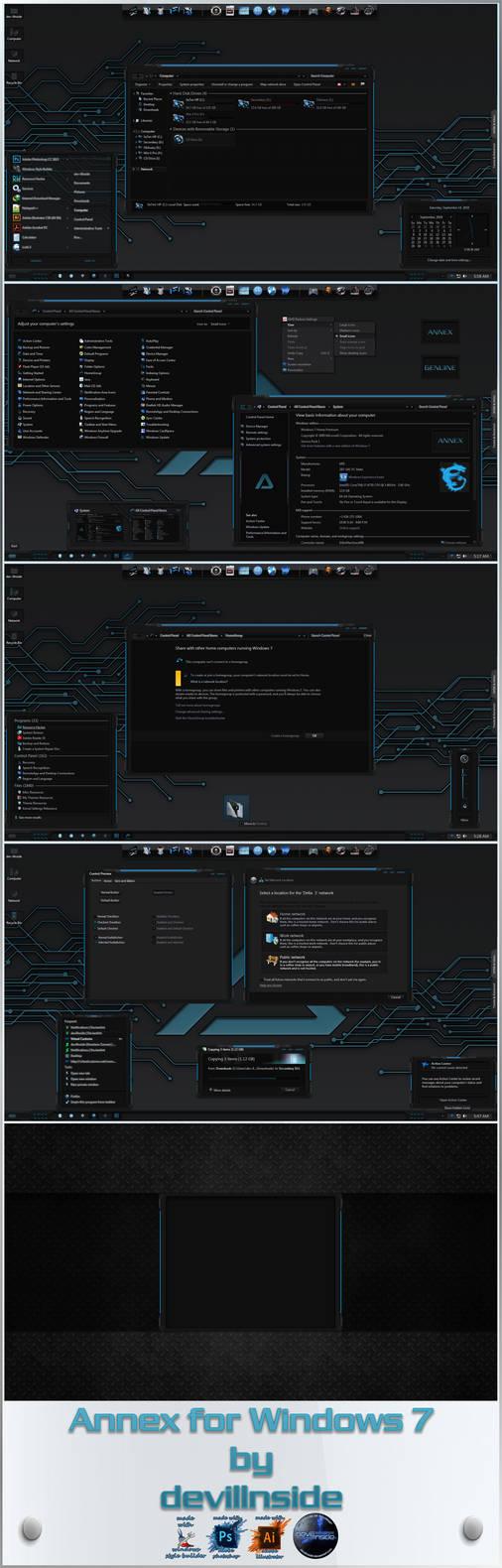 Annex for Windows 7