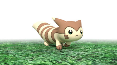 [GIF] Furret walks for an eternity
