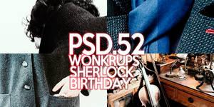 Wonkrups {52} - Sherlock Bday Psd