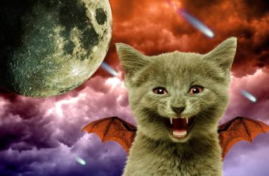 Evil Cat Apocalypse  by Free-do