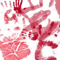 Handprints by flutterstock