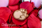 Keychain 'Yoshi Sorridente' free for personal use by ChibiPyro